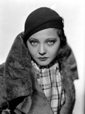 Sylvia Sidney in a Furry and Thick Coat Photo by  Movie Star News