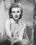 Ginger Rogers Portrait Red lipstick Curly Hair Photo by E Bachrach