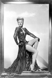 Ginger Rogers Posed wearing Black Gown Portrait Photo by  Movie Star News
