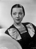 Sylvia Sidney in a Black Dress Photo by  Movie Star News