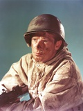 Richard Basehart Posed in Military Outfit Photo by  Movie Star News