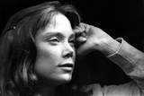 Sissy Spacek Leaning Head On Chin in Classic Photo by  Movie Star News