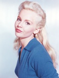 Tuesday Weld On Side in Blue Dress Photo by  Movie Star News