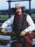 Tom Selleck in Cow Bot Outfit Portrait Photo by  Movie Star News