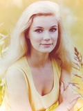 Yvette Mimeaux Posed in Yellow Dress Photo by  Movie Star News