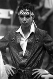Ralph Macchio in Glossy Suit With Headband Photo by  Movie Star News