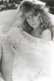 Heather Locklear Posed in a Portrait wearing White Glossy Dress Photo by  Movie Star News