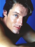 Perry King in Close Up Portrait with Blue Background Photo by  Movie Star News