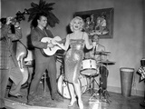 Sex Kittens Go To College Mamie Van Doren on Stage singing Photo by  Movie Star News