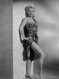 Virginia Mayo Leaning in Dress and Heels Photo by  Movie Star News