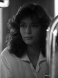 Rachel Ward Looking Away in Black and White Close Up Portrait Photo by  Movie Star News