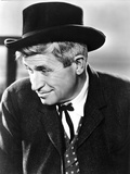 Will Rogers Looking Away in Black Suit with Hat Photo by  Movie Star News