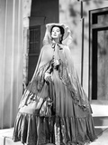 Rosalind Russell in Gown with Hat Photo by  Movie Star News