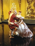 Yul Brynner Dancing with a Lady in Shiny Dress Photo by  Movie Star News