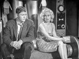 Sex Kittens Go To College Mamie Van Doren sitting with a Man in Suit Photo by  Movie Star News