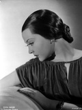 Sylvia Sidney wearing a Ruffled Blouse Photo by  Movie Star News