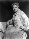 Sophie Tucker Seated in Classic Photo by  Movie Star News