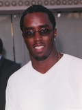 Sean Combs Posed in White Shirt Photo by  Movie Star News