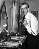 Fred Astaire Fixing Neck Tie Photo by  Hendrickson