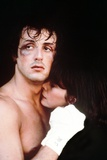 Sylvester Stallone Couple Scene in a Movie Photo by  Movie Star News