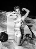 Virginia Mayo Kneeling in Classic Portrait Photo by  Movie Star News