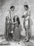 Quo Vadis Woman Begging in Between Two Men Scene Excerpt from Film in Black and White Photo by  Movie Star News