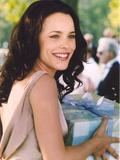 Rachel McAdams smiling in Elegant Dress Photo by  Movie Star News