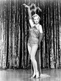 Virginia Mayo posed in Mini Dress with Heels and Gloves Photo by  Movie Star News