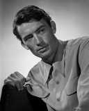 Gregory Peck Posed in Formal Outfit Photo af E Bachrach