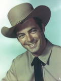 Rory Calhoun wearing Cowboy Hat Painting Photo by  Movie Star News