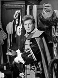 Richard Basehart Close Up Portrait Photo by  Movie Star News
