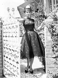 Sophia Loren Pose in Elegant Dress Photo by  Movie Star News