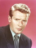 Richard Basehart Posed in Suit Photo by  Movie Star News