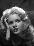 Tuesday Weld Clos Up Portrait in Black and White Photo by  Movie Star News