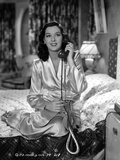 Rosalind Russell in Bathrobe With Telephone Photo by  Movie Star News