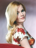 Tuesday Weld On Side in Floral Dress Photo by  Movie Star News