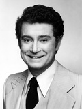 Regis Philbin smiling in Black and White Close Up Portrait wearing Formal Coat Photo af  Movie Star News