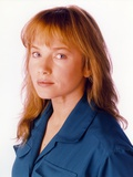 Rebecca Demornay Whit Background Close Up Portrait Photo by  Movie Star News