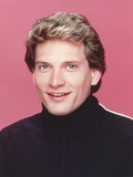 Rex Smith smiling in Close-up Portrait Photo by  Movie Star News