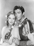 Quo Vadis Couple Portrait in Black and White Photo by  Movie Star News