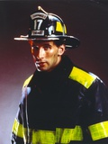 William Baldwin Posed in Fireman Outfit Photo by  Movie Star News