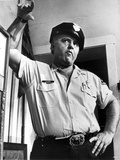 Rod Steiger standing in Police Attire Photo af Movie Star News