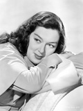 Rosalind Russell Leaning on Arms Photo by  Movie Star News