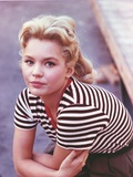 Tuesday Weld Portrait in Stripe Blouse Photo by  Movie Star News