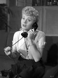 Shelley Winters Answering the Phone in a Portrait Photo by  Movie Star News