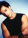 Richard Grieco Posed in Black Tank top Photo by  Movie Star News