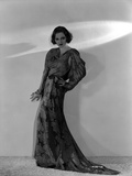 Talullah Bankhead on an Embroidered Dress and Hand on Waist Photo by  Movie Star News