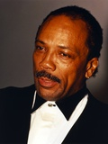 Quincy Jones Looking Away in Close Up Portrait wearing Tuxedo Photo by  Movie Star News