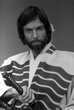 Richard Chamberlain Posed in Swordsman Attire With Sword Photo by  Movie Star News