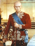 Yul Brynner in Red Long sleeves with Blue Sash Photo by  Movie Star News